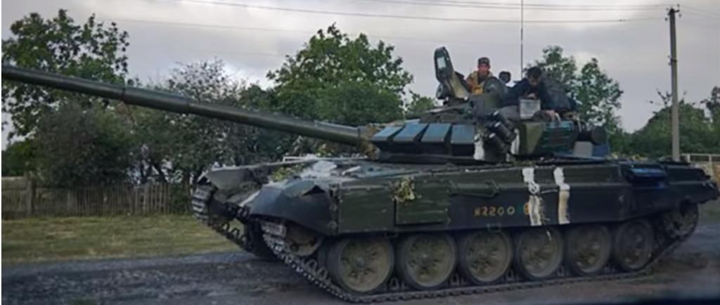Танк Т-72 Б3