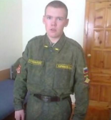 Загиблий російський танкіст Василь Караваєв