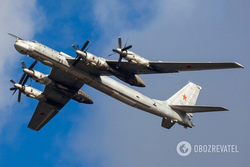 Самолет Ту-95