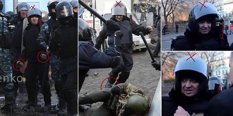 Полковник Василь Пилипенко на Майдані