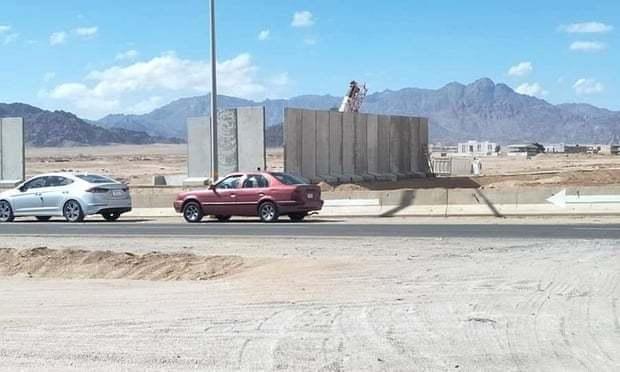 Стіна в Шарм-ель-Шейху