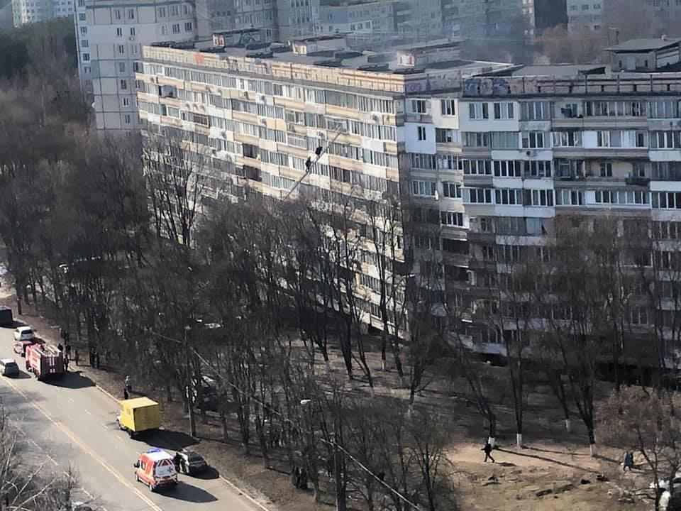 У Києві сталася масштабна пожежа
