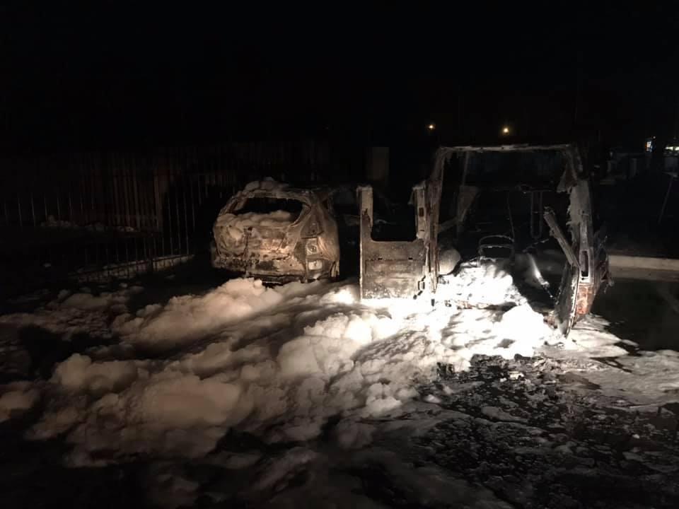 Василию Крутчаку подожгли авто