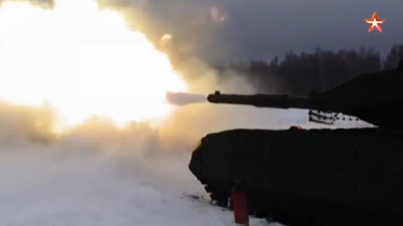 В РФ похвастались расстрелом украинских танков