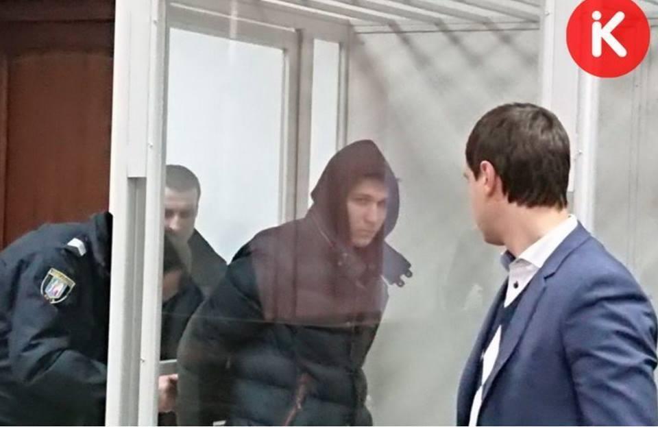 Підозрюваний Микита Слобідський