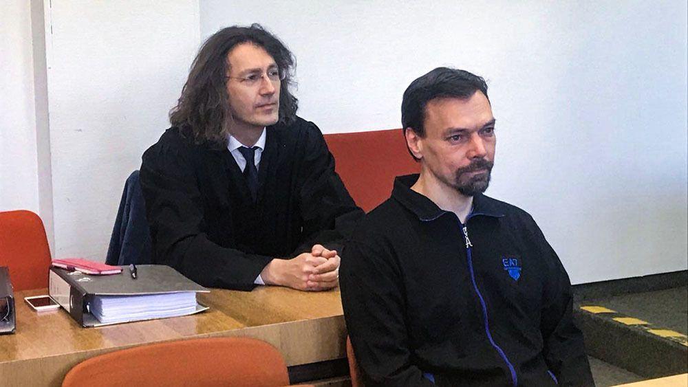 Сергей Киселев на суде
