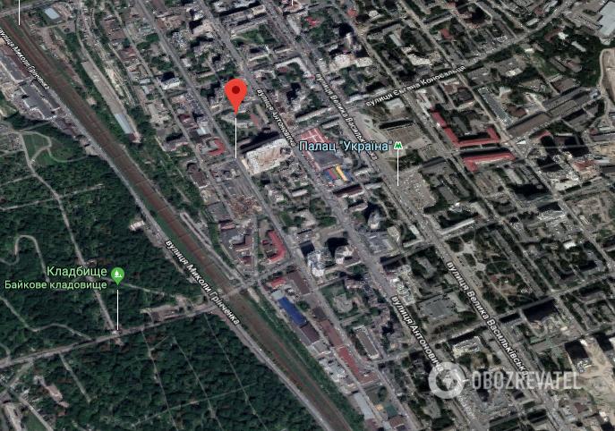 Напад трапився у Голосіївському районі