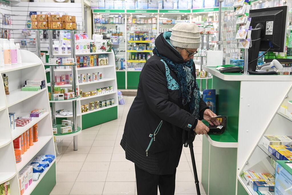 У курской пенсионерки в аптеке украли 12 тысяч