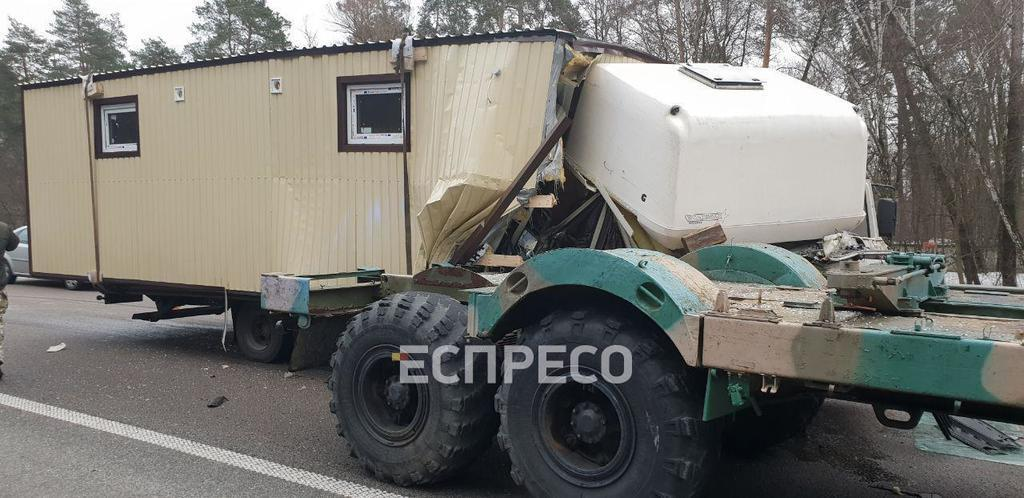 Аварія з військовими в Києві