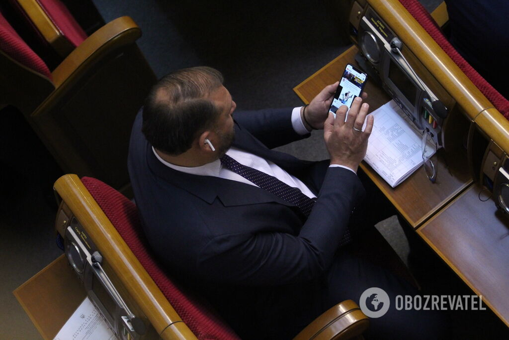 Михаил Добкин в Верховной Раде 5 февраля