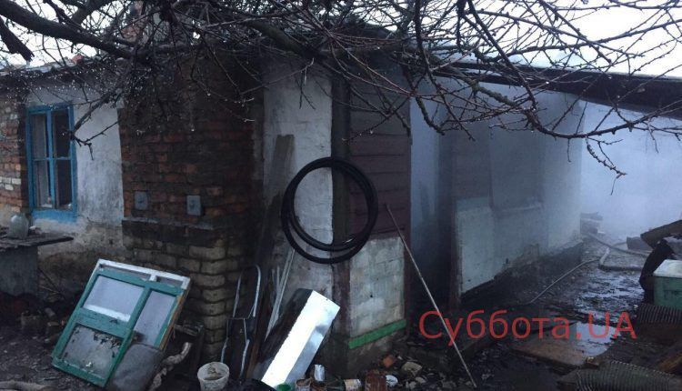 В Запорожской области сгорел частный дом, есть пострадавшие