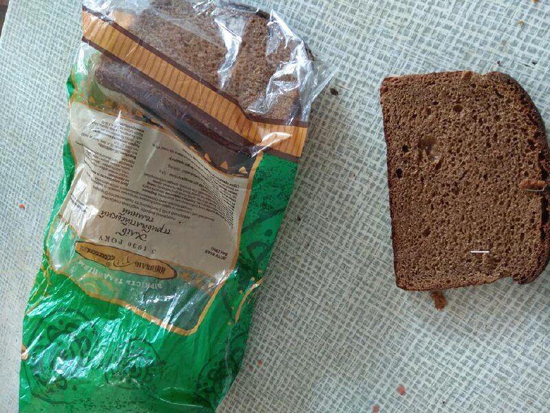 Скобы в хлебе
