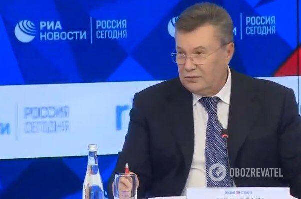 Янукович запанікував через українського журналіста