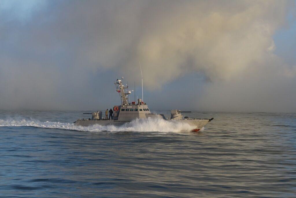 Українські моряки відбили ''атаку'' на Азовському морі