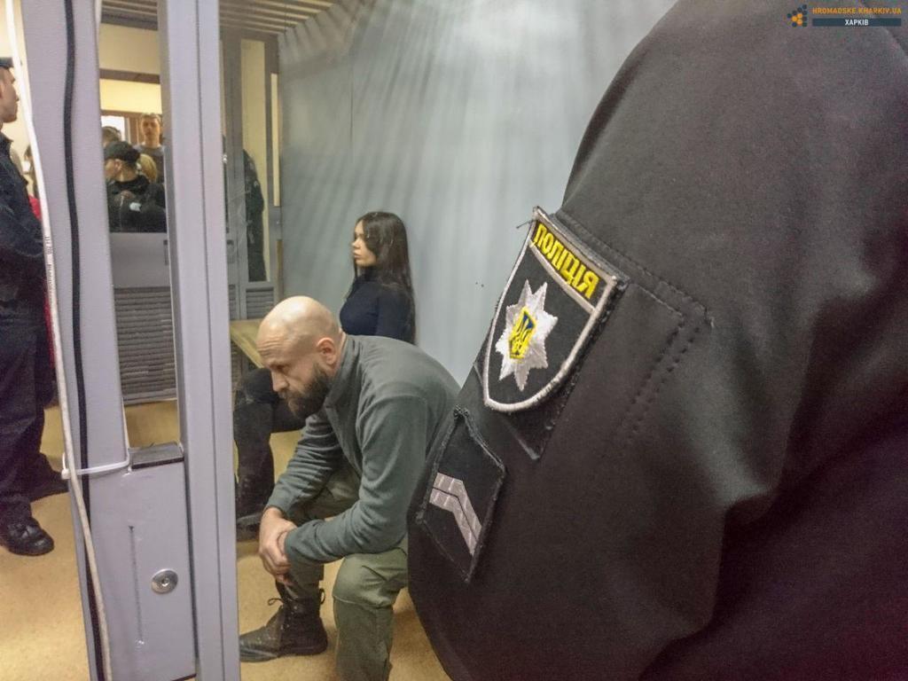 Зайцева і Дронов на суді