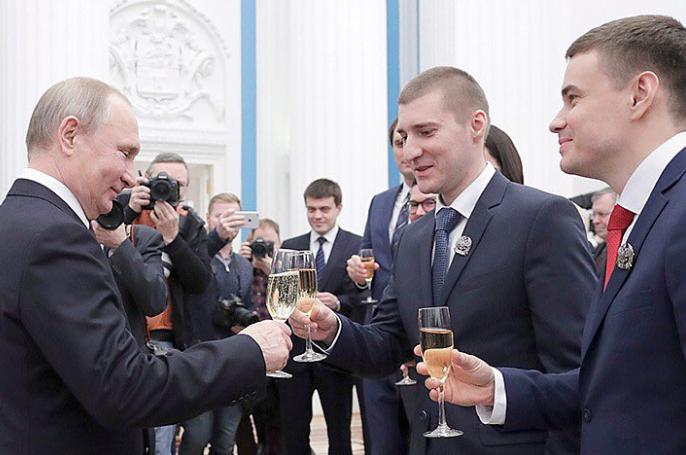 У Росії висміяли ''винахід'' Путіна