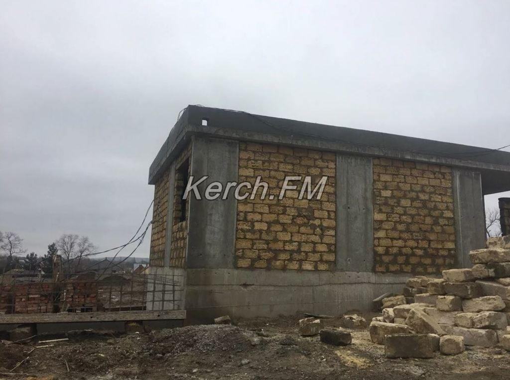 Строительство военной базы в Крыму
