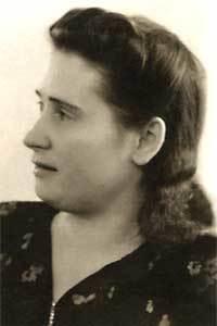 Мать Путина Мария Путина