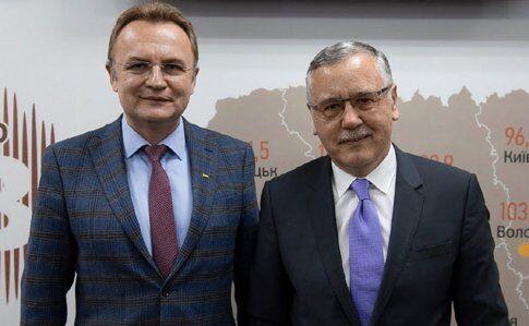 Андрей Садовый и Анатолий Гриценко