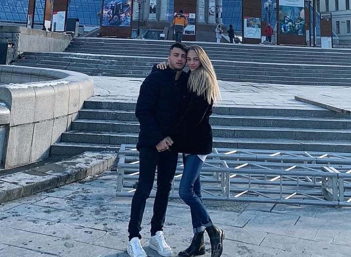 Фабио Базиле и Дарья Белодед
