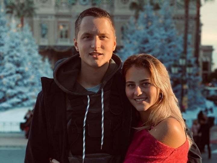 Алексей Захаров и Марта Костюк