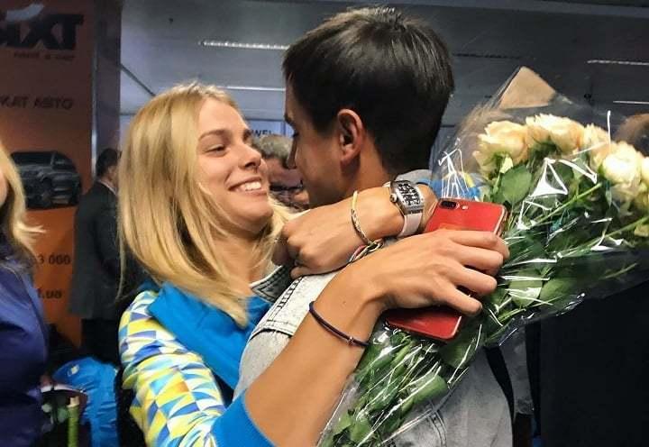 Юлия Левченко и Юрий Кищенко