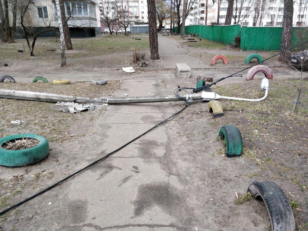 Ураган у Києві