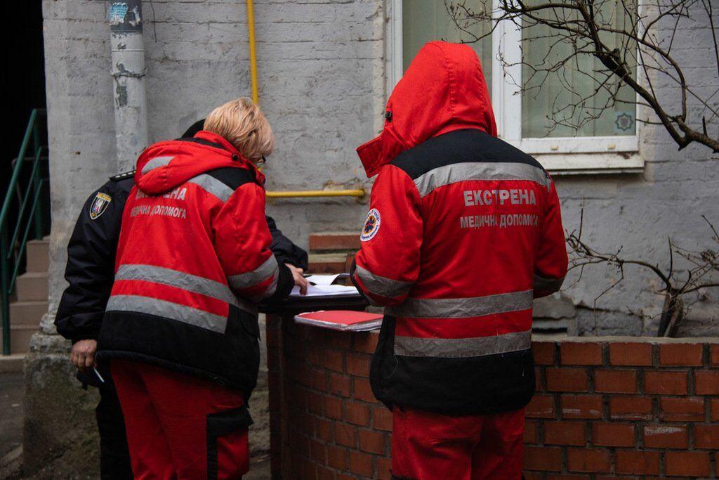 В центре Киева нашли труп мужчины