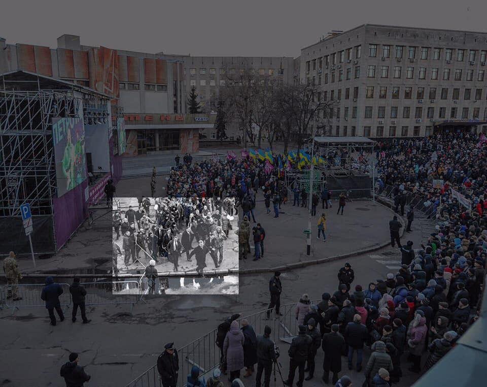 """""""Порошенко втік з мітингу"""": росЗМІ спіймали на ганебному фейку"""