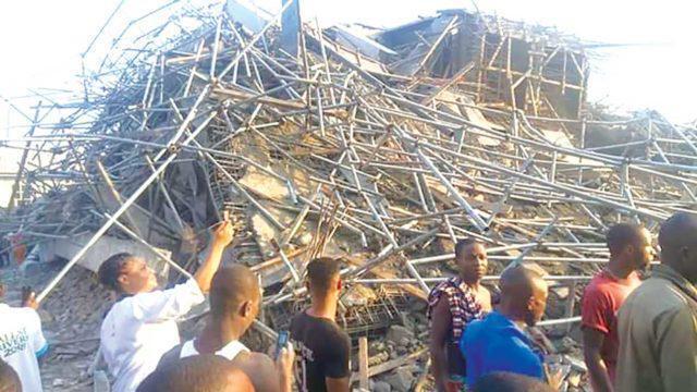 У Нігерії впала школа