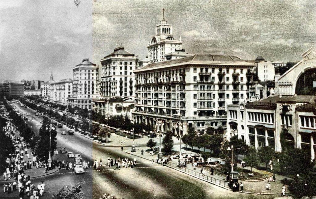 Нейросеть раскрасила старые фото Киева