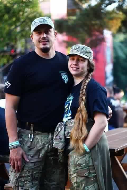 Сергей Мороз с женой