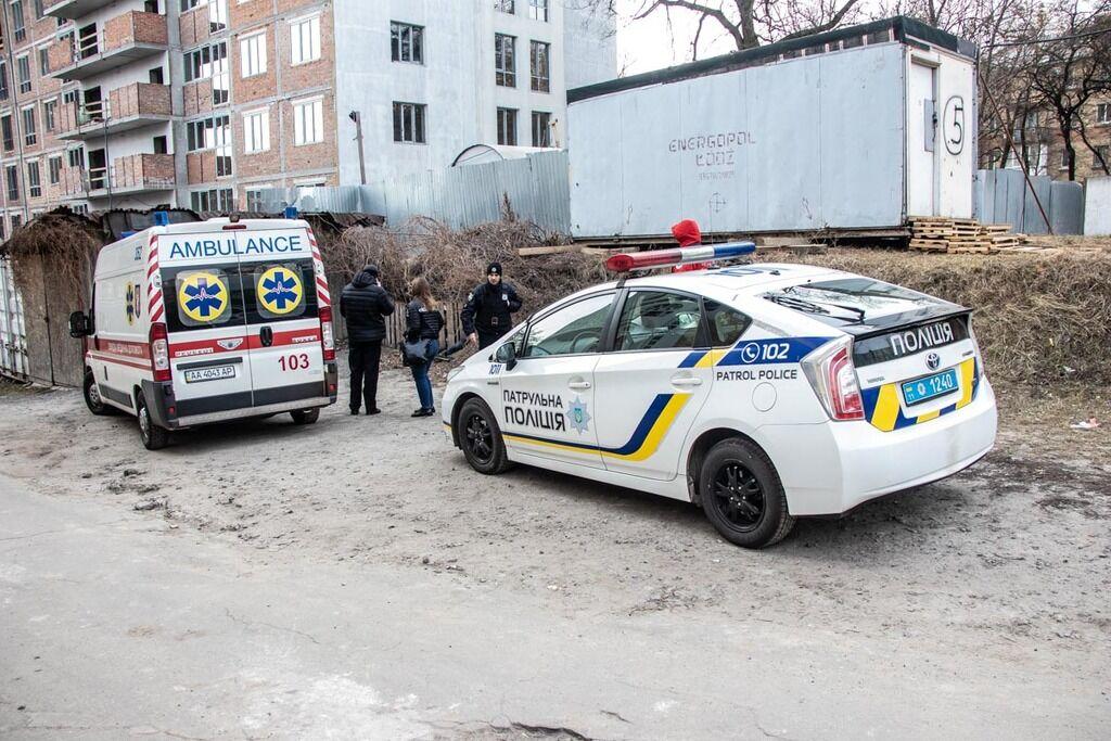 В Киеве нашли окровавленный труп