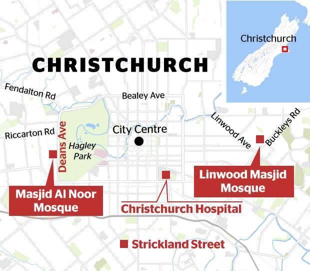 В Новой Зеландии расстреляли мечети и больницу: 49 жертв, около 40 раненых