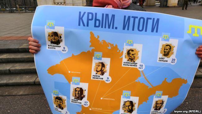 В центре Москвы: у Путина потребовали вернуть Крым Украине