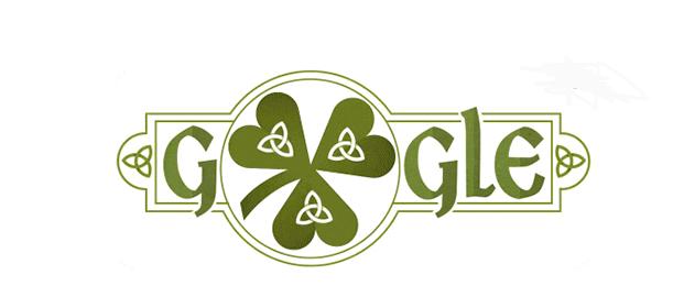 Google посвятил дудл Дню святого Патрика