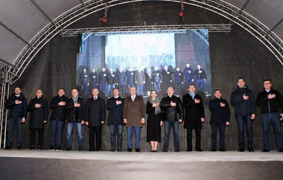 Гриценко представив всю свою команду у Тернополі