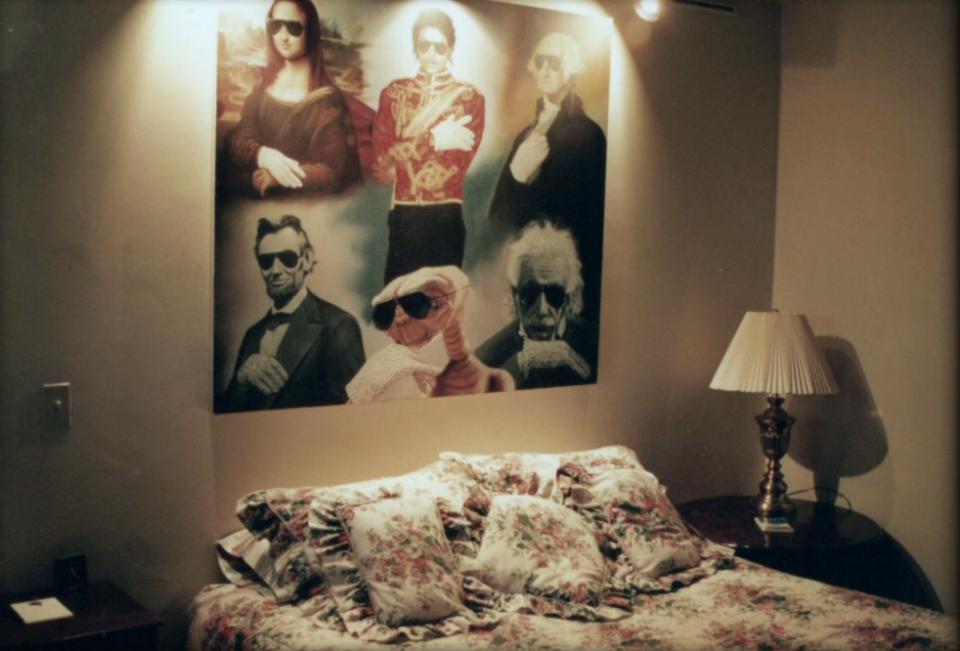 отходил постели фото спальни майкла джексона так, одним словом