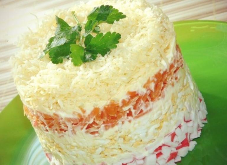 """Як швидко і смачно приготувати салат """"Ніжність"""": рецепт"""