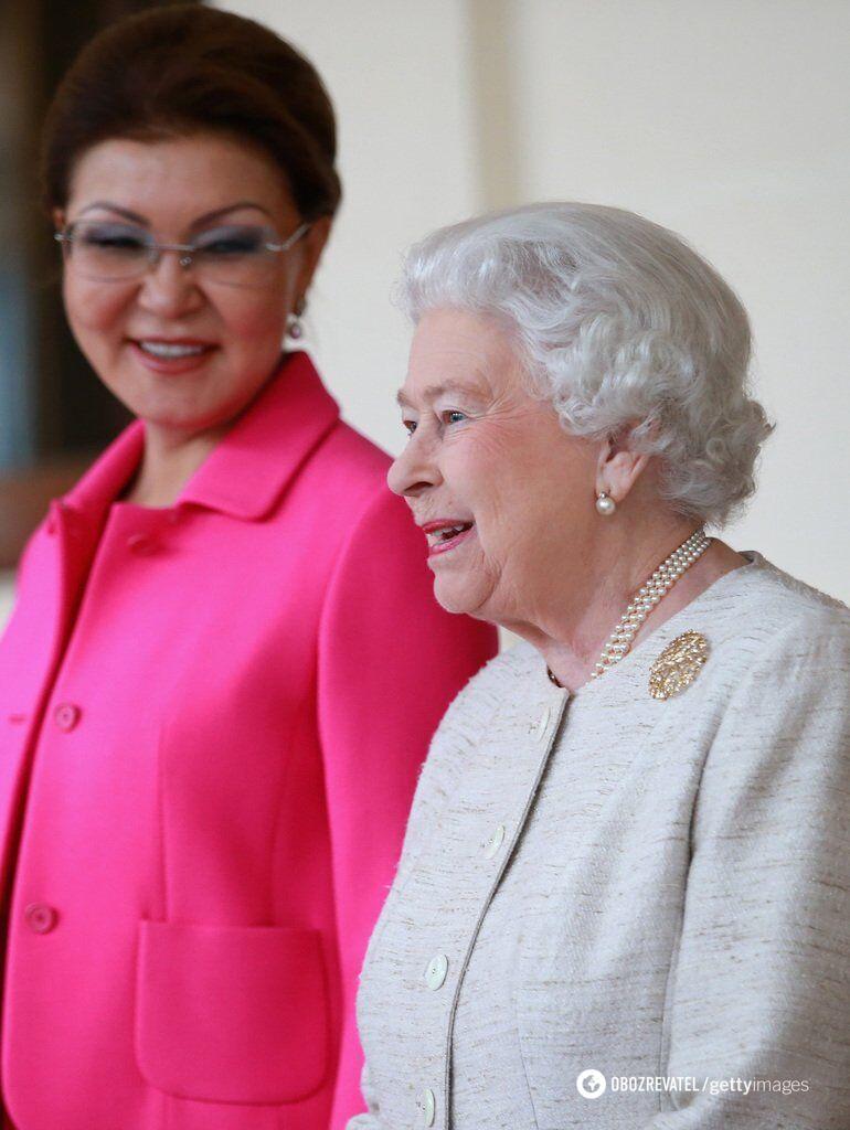 Даріга Назарбаєва та Єлизавета II