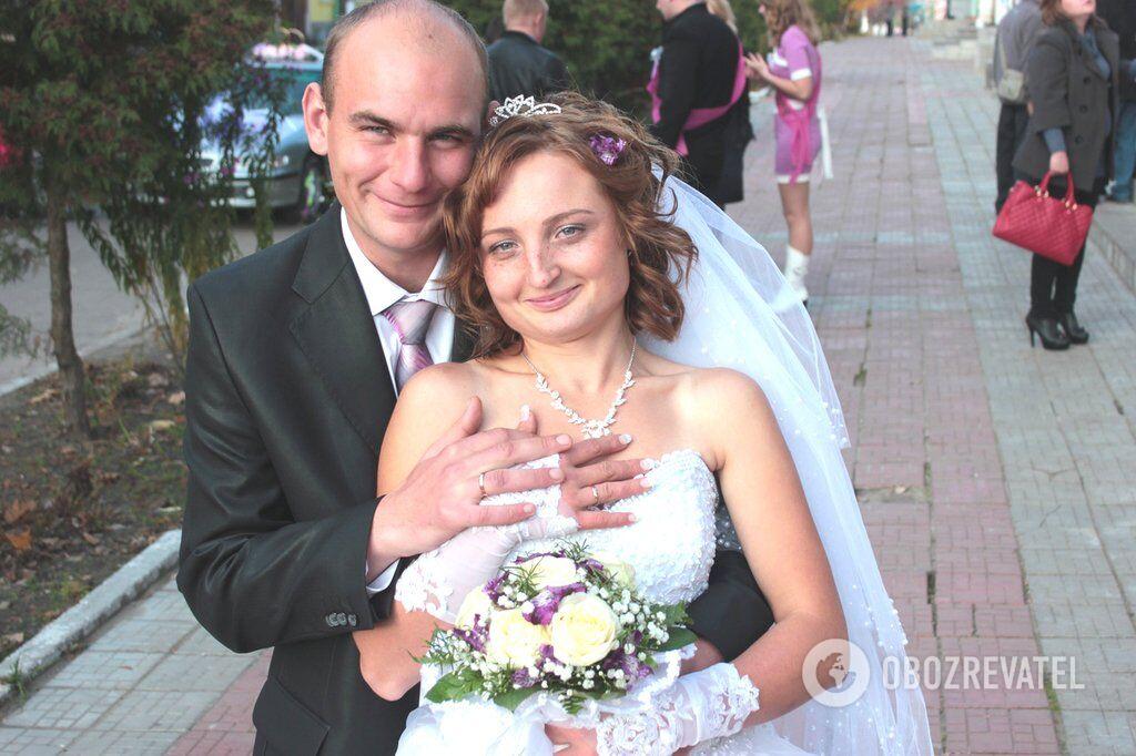 Анастасия Горбатенко вместе с мужем Игорем