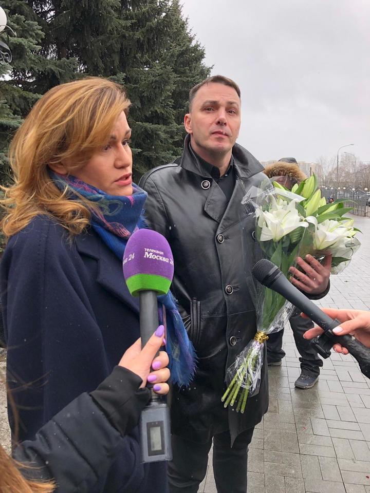 "Кирилл Андреев с супругой (""Иванушки"")"