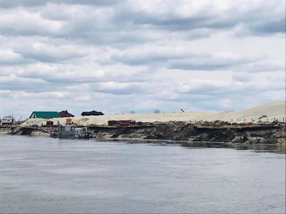 В Україні викрили пункти незаконного намивання піску: де виявили