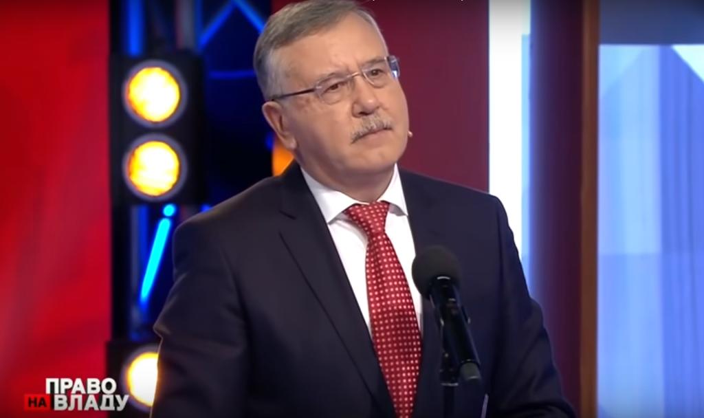 """Гриценко про війну з РФ, скандал в оборонці та """"ополчєночку"""" Світлану Дрюк"""