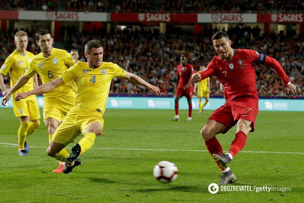 Португалия - Украина
