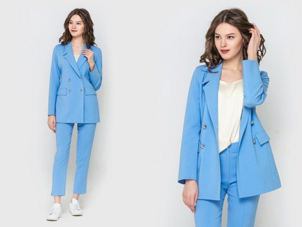 Брючный костюм в весеннем гардеробе: советы, как носить