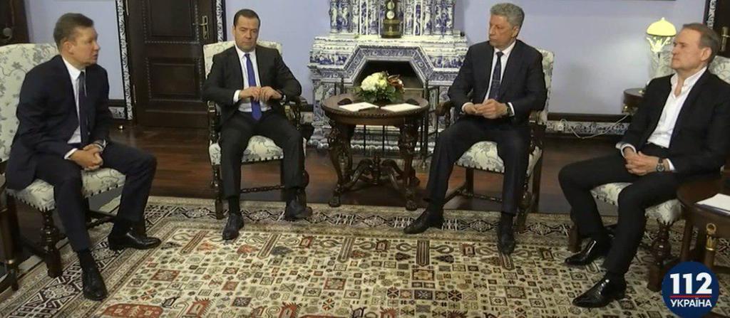 Бойко і Медведчук з'їздили на ''газові'' переговори до Медведєва: подробиці
