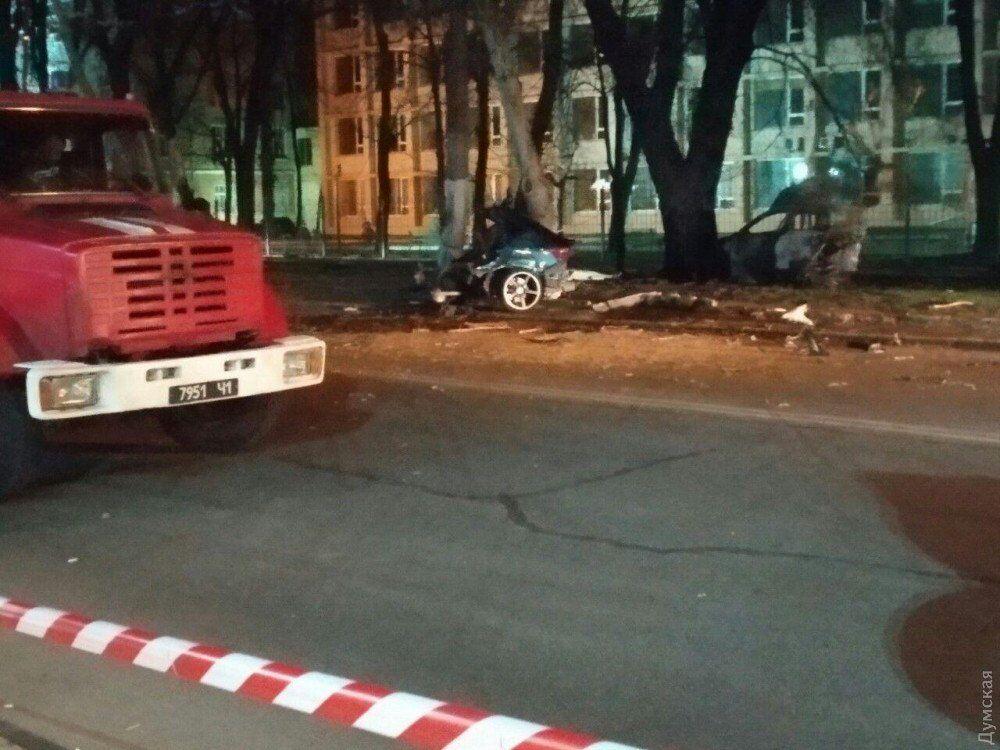 Устроил гонки с Porsche: в Одессе — смертельное ДТП с мажором. Фото 18+