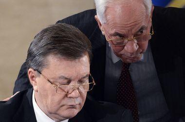 Виктор Янукович и Николай Азаров