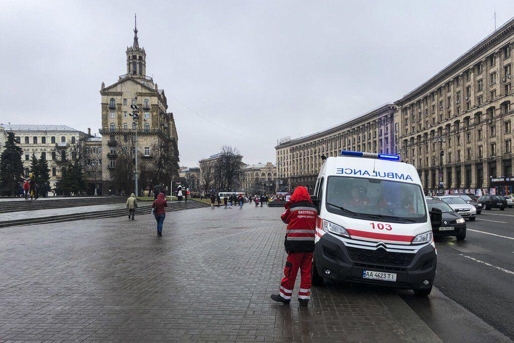 В Киеве сообщили о минировании Майдана